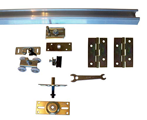 Series 1 HBP Heavy Duty Bifold Track and Hardware Kit (36