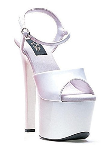 Platform Ellie Sandal Shoes C White 711 Women's Flirt qXq7P