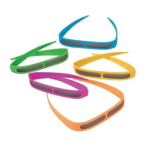 Fun Express Headband Sunglasses 12 Sunglasses (Variety of Bright -