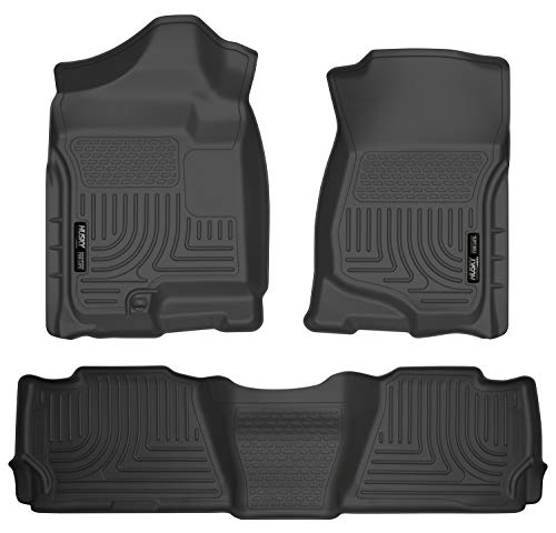 Husky Liners Front & 2nd Seat Floor Liners Fits 07-14 Escalade/Tahoe/Yukon