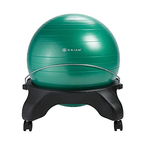 Gaiam Backless Balance Ball Chair