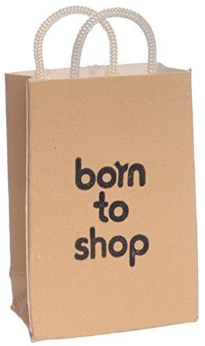 Dollhouse Miniature Shopping Bag