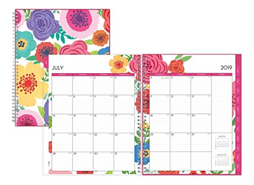 Blue Sky 2019-2020 Academic Year Weekly & Monthly Planner, Flexible Cover, Twin-Wire Binding, 8.5'' x 11'', Mahalo by Blue Sky (Image #3)
