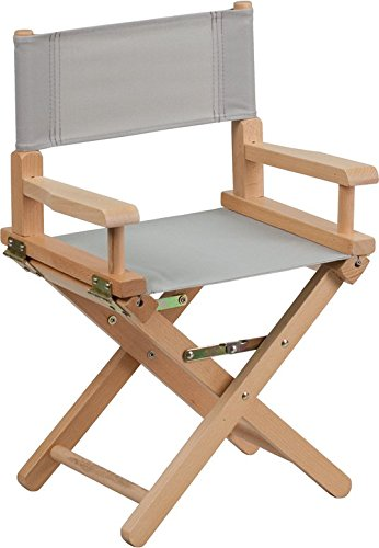 (23'' Gray Directors Chair (1 Chair))