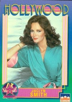 Jaclyn Smith trading Card (Actress) 1991 Starline Hollywood Walk of Fame #182 by Autograph Warehouse