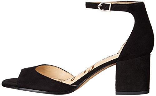 Daim Dress Susie Sam Women's Noir Edelman Sandal 4BS16Wxwq