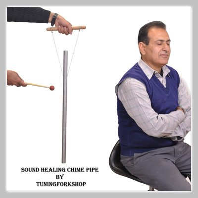 432-hz-healing-tuned-pipe-louder-than-tuning-fork-with-mallethand-stand-free-shipping