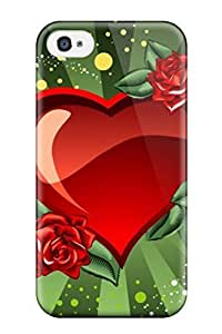 Diushoujuan 4685265K15740256 4.7Hard Plastic Iphone 6 4.7 Case Back Cover,hot Holiday Valentines Day Heart Love Case At Perfect Diy