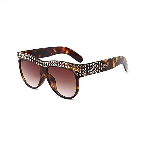Llegada Hombre Lentes Gafas Gafas Nueva plástico diseñador de Degradado Bastidor C Sol D Marca Square de Burenqi Diamond Mujer UV400 1q50A