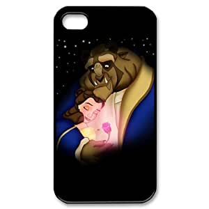 Disney Beauty and the Beast For SamSung Note 2 Case Cover Hard For SamSung Note 2 Case Cover Fitted Case