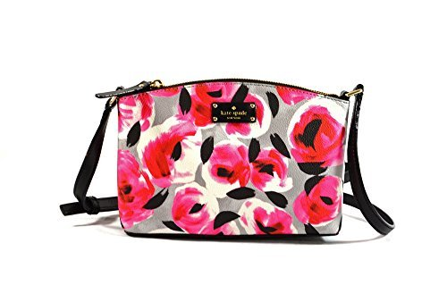 - Kate Spade New York Grove Street Printed Millie Shoulder Handbag Purse (Rose Bed)