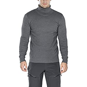 Rocorose Men's Long Sleeve Essential Turtleneck Sweater Pullover