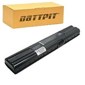 Battpit Recambio de Bateria para Ordenador Portátil Asus A6R (4400mah / 65wh)