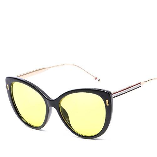 RinV Gafas Gato Europeas NO4 De para Ojo De Metal Sol Espejo De Parasol Tendencias N01 Sol Gafas Moda Gafas Mujer rgqFr