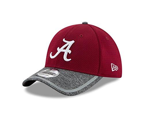 NCAA Alabama Crimson Tide Adult NE16 Training 39THIRTY Stretch Fit Cap, Small/Medium, - Fit Performance Hat Stretch