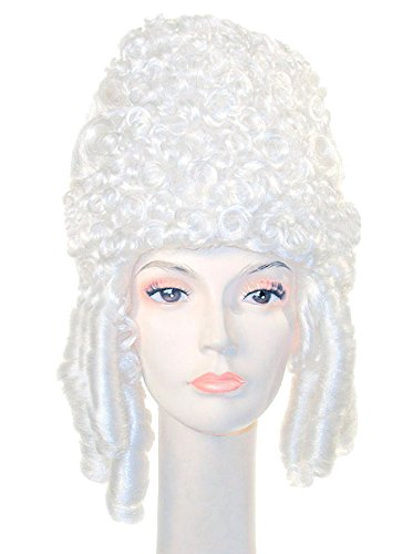 UHC Deluxe Marie Antoinette Wig Adult Womens Halloween Costume (Deluxe Marie Antoinette Wig)