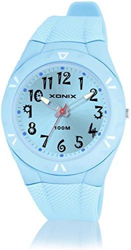 子時計学生防水ガールズボーイズクォーツポインタwatch-d