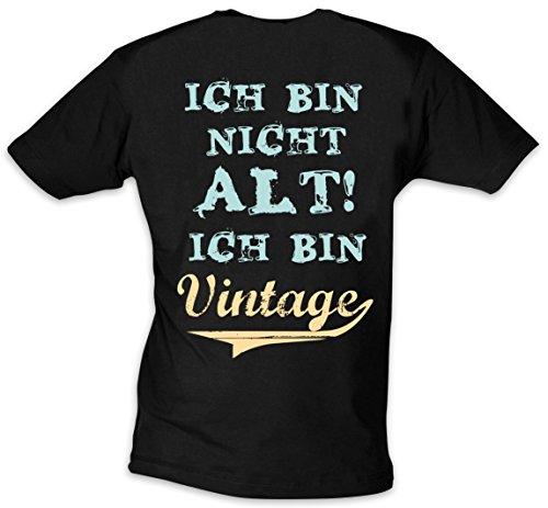 """T-Shirt """"Ich bin nicht alt! Ich bin Vintage!"""" in den Gr. M, L, XL"""