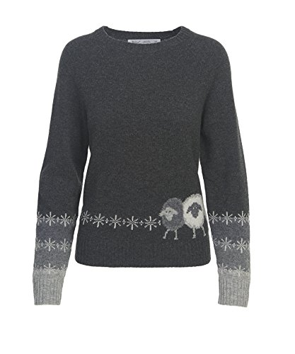 Neck Lambswool Sweater - 9