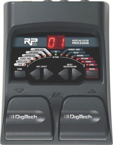 Digitech Chromatic Tuner (DigiTech RP55 Guitar Multi-Effects Processor)
