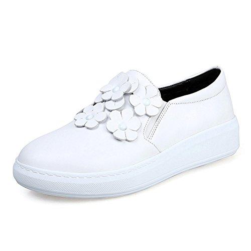 Coreano señoras zapatos planos/zapatos de las flores/Zapatos del estudiante B