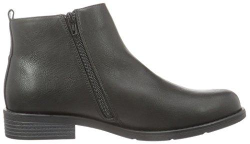 Kurzschaft Bianco Black Stiefel 10 48942 Boot Schwarz 27 Zip Damen wrqf6