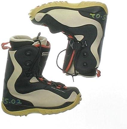 botas trekking salomon mujer negro y blanco