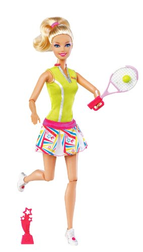 Barbie I Can Be Team Barbie Olympic Tennis Doll, Baby & Kids Zone