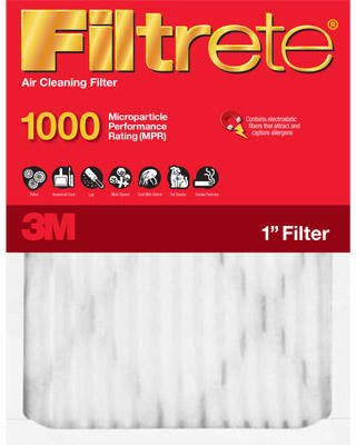 16x20x1, Filtrete Micro Allergen Air Filter, MERV 11, by 3m