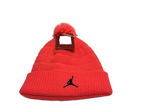742ef93693d Image Unavailable. Image not available for. Colour  AIT Corporation Nike  Jordan Jumpman Pom Beanie Size 8 20 Unisex Knit Cap ...