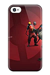 YyIoZFW3251PtxyE Case Cover Team Fortress 2 Iphone 4/4s Protective Case