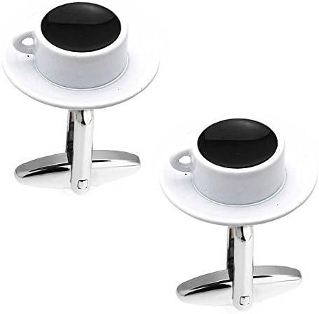 コーヒー カフス カフスボタン カフリンクス n01407
