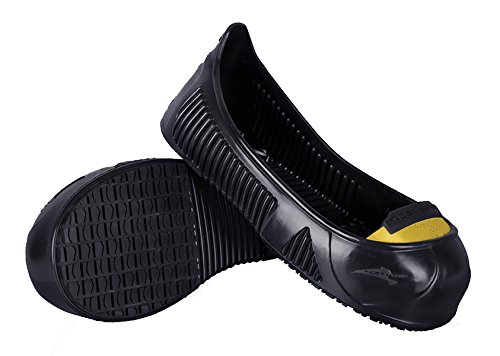 Tiger Grip Total Protect Anti-Slip Overshoe w/ Toe Cap_Safe Visits. Size 4-13 (Small 4-5.5)
