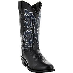Soto Boots Monterrey Women's Cowgirl Boots M3001 (8, Black)