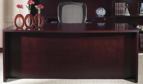 72' Bow Top (Kenwood Collection 72'' Bow Top Desk [KENTYP1-FS-OS])