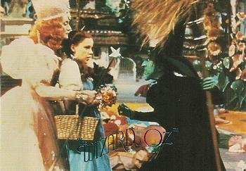 Dorothy with the Wicked Witch trading card (The Wizard of Oz) 1996 DuoCards #14