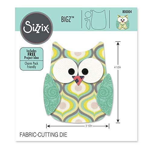 Sizz BigZ Die Owl #6#800004 Fabric Cutting Die 4 1/2