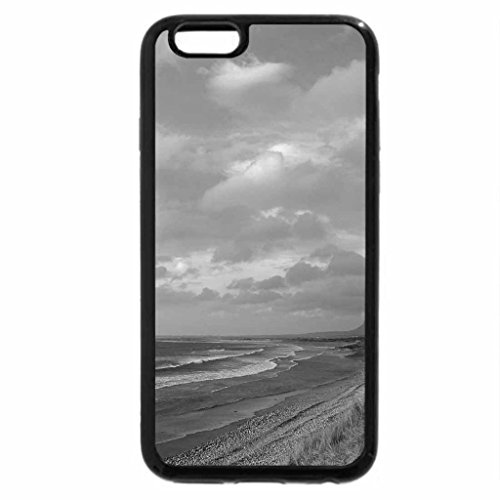 iPhone 6S Case, iPhone 6 Case (Black & White) - Light Waves
