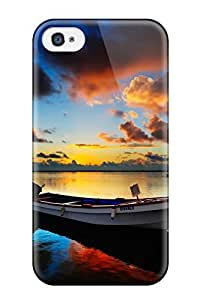 High Impact Dirt/shock Proof Case Cover For Iphone 4/4s (sunrise Hdr)