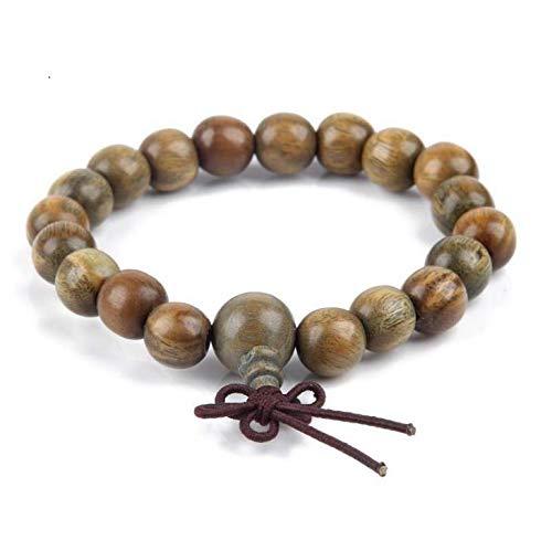 FidgetGear Verawood Bracelets Buddha Palo Santo Beads Wooden Bracelet Stretch Jewelry Wood 9mm