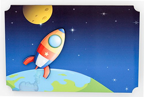 YOUR NAME Room Rocketship Personalize