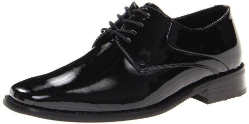 Giorgio Brutini Men's Fallon 17588 Tuxedo Oxford,Black,12 M US - Leather Patent Leather Tuxedo