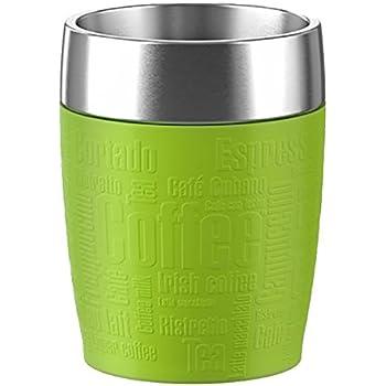 emsa 514516 travel cup thermo mug oz lemon yellow kitchen dining. Black Bedroom Furniture Sets. Home Design Ideas