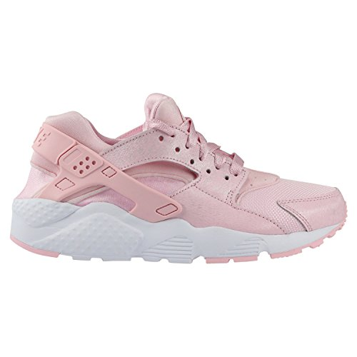 286136468e48 Nike Big Kids Girls  Nike Huarache Run Se Gs pink prism pink-white Size 5.0  US