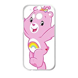 HTC One M8 phone case White Care Bear AADE3534337