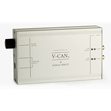 Musical Fidelity V-CAN II - Amplificador de auriculares