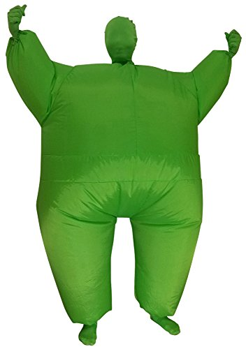 Green Man Factory Child Inflatable Body Suit - Large, Green (Inflatable Body Costume)