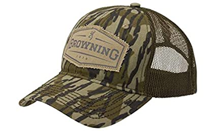 Image Unavailable. Image not available for. Color  Browning Atlus Trucker  Cap Mossy Oak Bottomland a7f3baa1f29