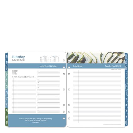 Monarch Daily - Monarch Leadership Daily Ring-bound Planner - Jul 2018 - Jun 2019