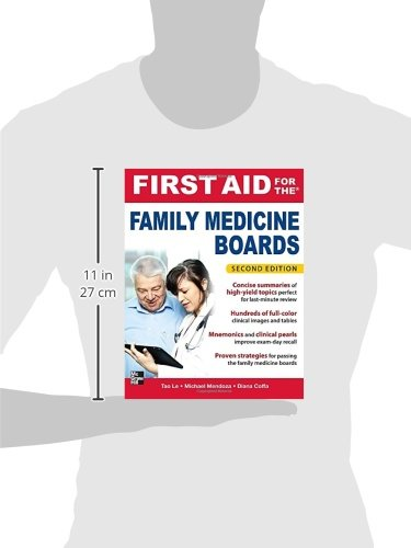 First Aid for the Family Medicine Boards, Second Edition (1st Aid for the Family Medicine Boards)
